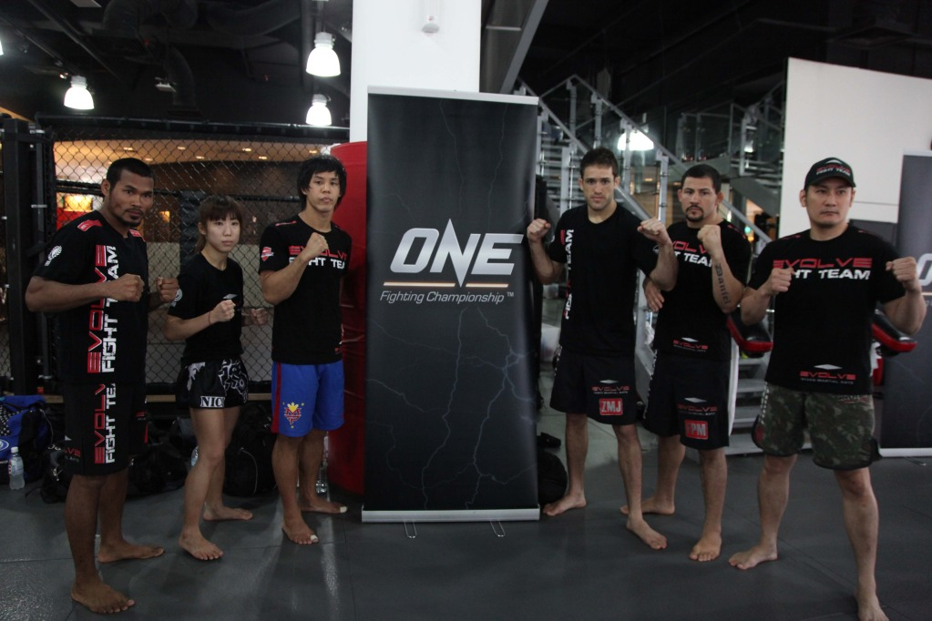 26496b4f6 ONE FC 3 media open workout photos gallery from Evolve MMA ...