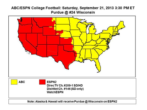 College football TV schedule, Week 4: The complete list of games
