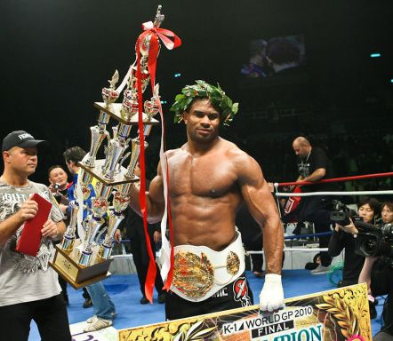 Alistair Overeem Makes History Becomes First Ever Champion