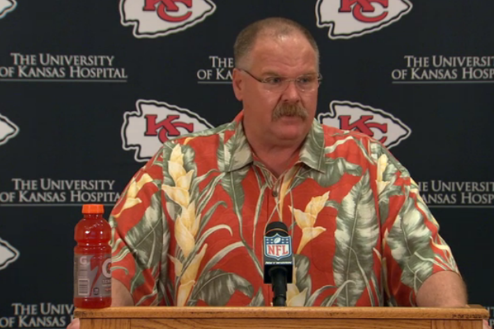 St. Louis football fans, Andy Reid could be the coach of your new favorite team. (KCChiefs.com)