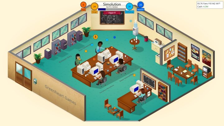 Game Dev Tycoon coming to Linux, Mac, PC