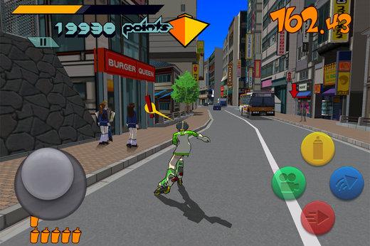 El Mitico Juego De Dreamcast Jet Set Radio Muy Pronto Para Android